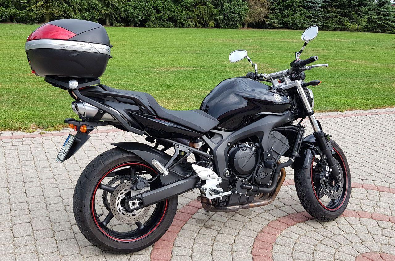 wynajem motocykla Yamaha FZ6-N