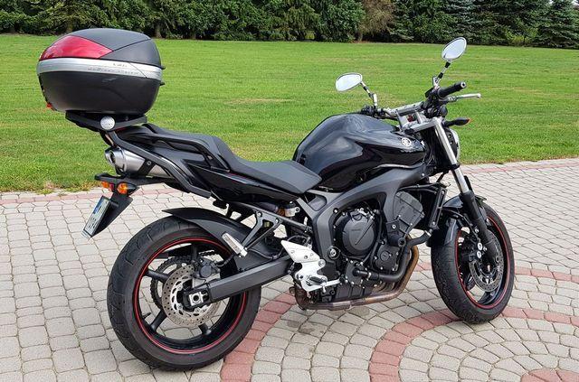 wypozyczenie motocykla Yamaha FZ6-N-chopper