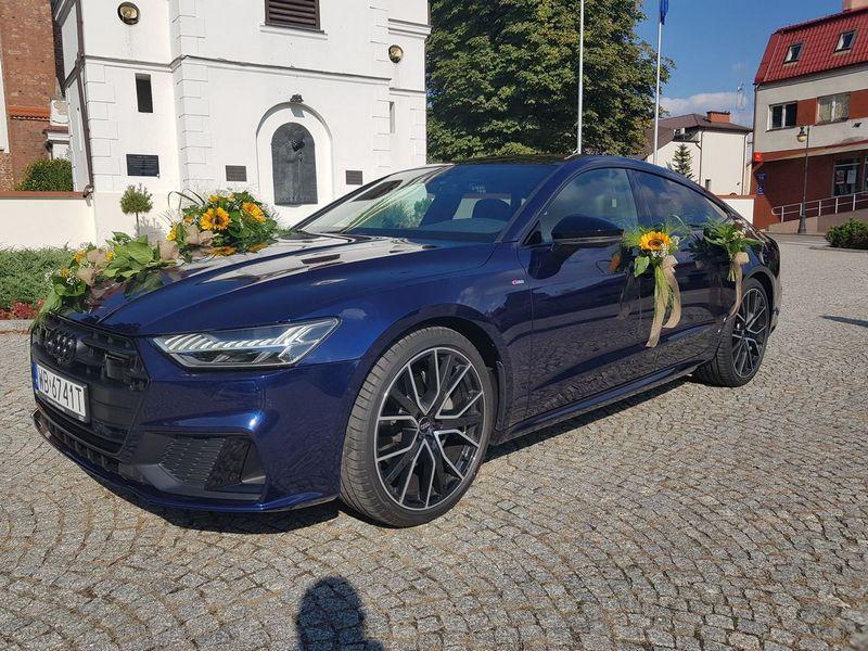 Audi A7 do ślubu