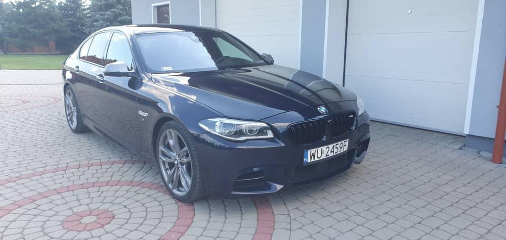 wynajem BMW M550D 380 Km
